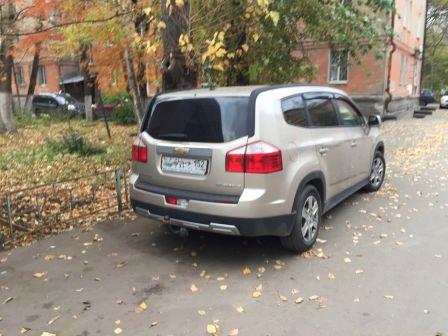 Chevrolet Orlando 2011 - отзыв владельца