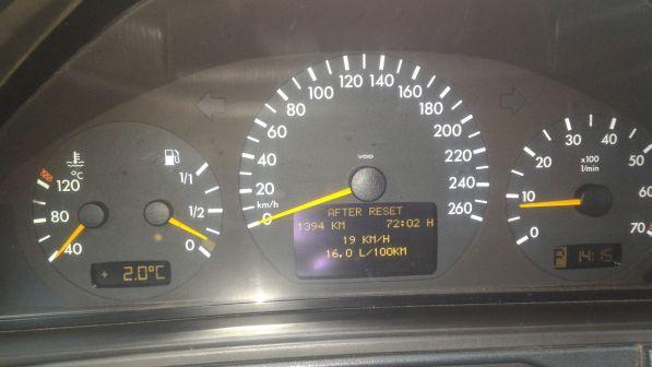 Mercedes-Benz E-Class 1999 - отзыв владельца