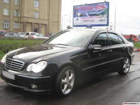Mercedes-Benz C-Class 2005 - отзыв владельца