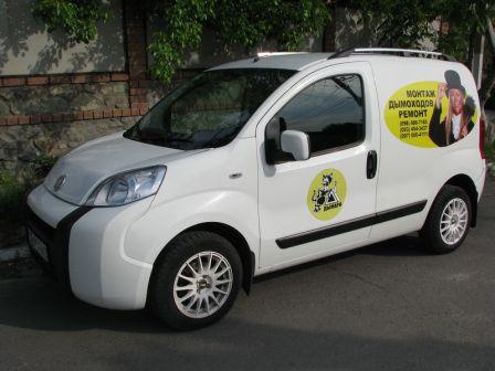 Fiat Fiorino 2010 - отзыв владельца