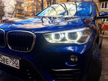BMW X1 2016 - отзыв владельца