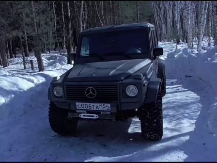 Mercedes-Benz G-Class 1998 - отзыв владельца