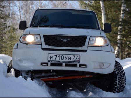 УАЗ Патриот 2012 - отзыв владельца