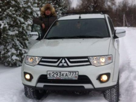 Mitsubishi Pajero Sport 2014 - отзыв владельца