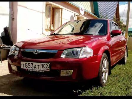 Mazda 323F 1998 - отзыв владельца