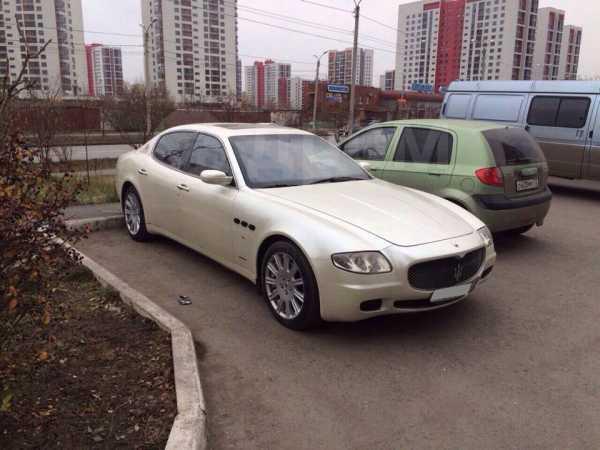 Maserati Quattroporte, 2005 год, 1 900 000 руб.