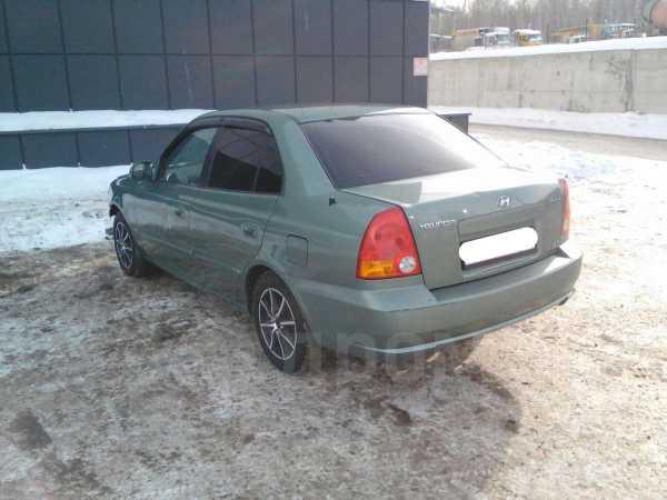 Hyundai Accent, 2003 год, 115 000 руб.