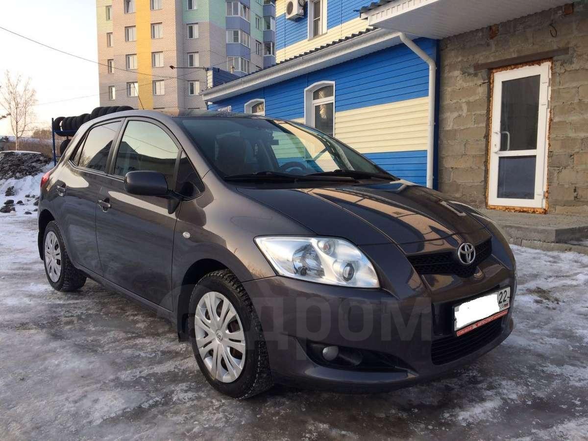 Тойота аурис частные объявления объявления куплю продам по россии