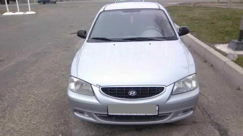 Hyundai Accent, 2004 год, 205 000 руб.