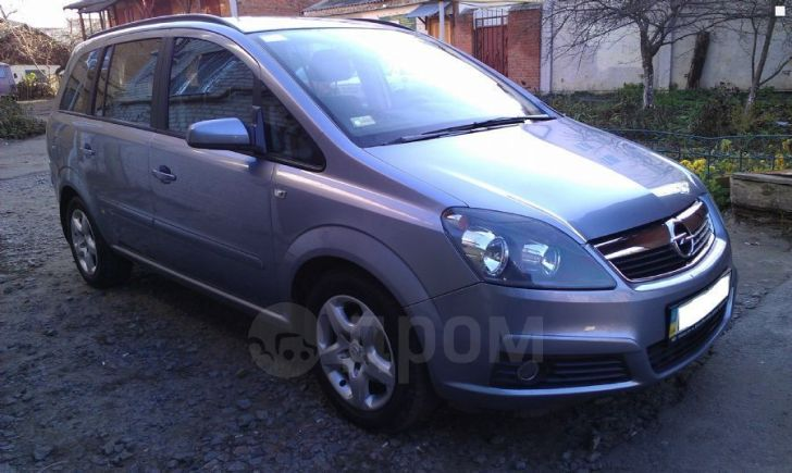 Opel Zafira, 2007 год, 380 000 руб.