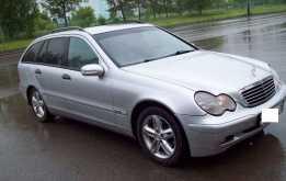 Mercedes-Benz C-класс, 2002 г., Омск