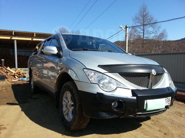 SsangYong Actyon Sports, 2009 год, 363 000 руб.