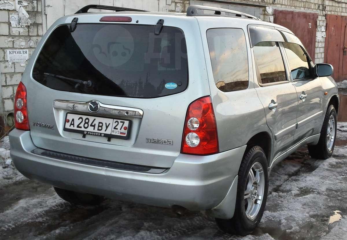 mazda tribute 2005 номер кузова