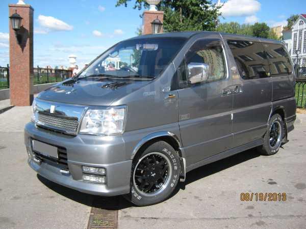 Nissan Elgrand, 2001 год, 300 000 руб.