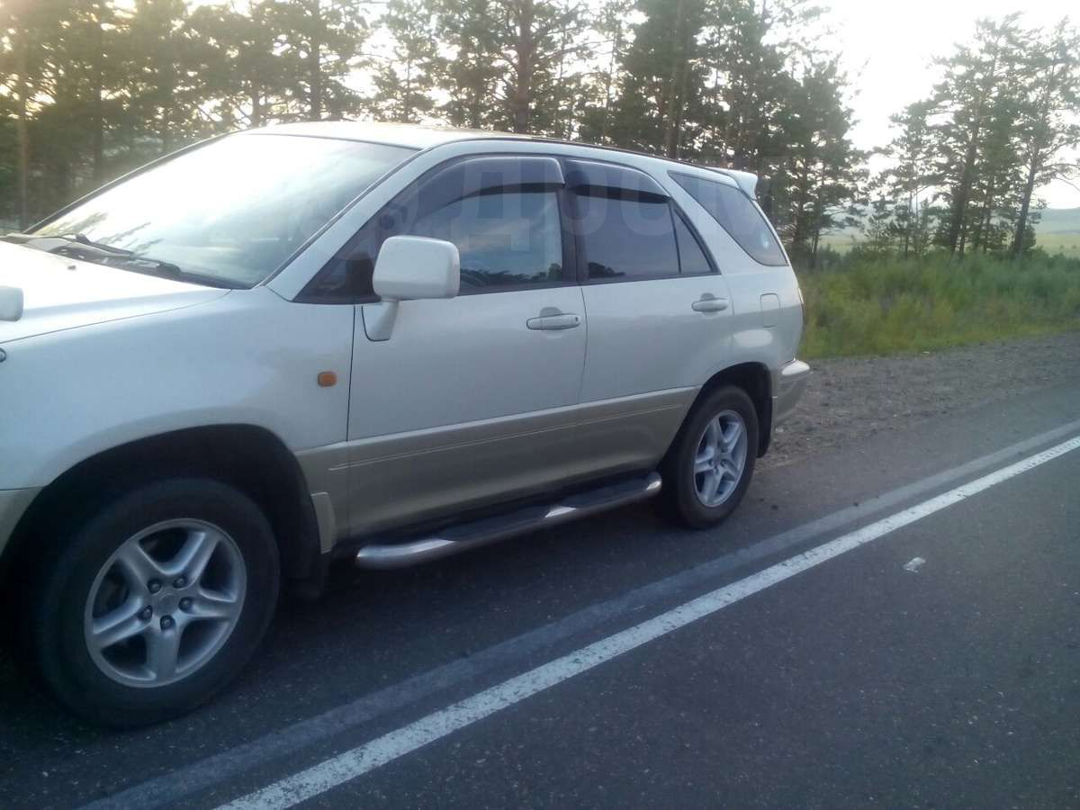 Toyota harrier 1999 запчасти