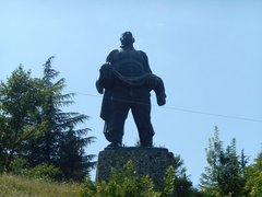Памятник Отец солдата (Гурджаани, Грузия)