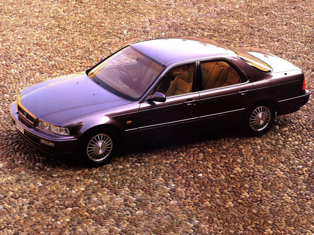 Honda Legend 1990, 1991, 1992, седан, 2 поколение технические характеристики и комплектации