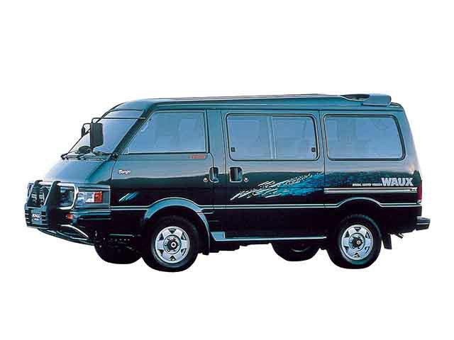 Mazda Bongo Brawny рестайлинг 1990, 1991, 1992, 1993, 1994 ...