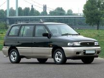 Mazda Efini MPV рестайлинг 1995, минивэн, 1 поколение, LV
