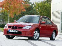 Subaru Impreza 2-й рестайлинг, 2 поколение, 06.2005 - 08.2007, Седан