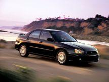Subaru Impreza рестайлинг, 2 поколение, 11.2002 - 12.2005, Седан