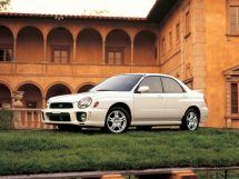 Subaru Impreza 2 поколение, 10.2000 - 12.2002, Седан