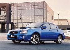 Subaru Impreza WRX рестайлинг 2002, седан, 2 поколение, GD