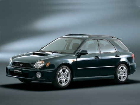 Subaru Impreza WRX (GG) 10.2000 - 10.2002