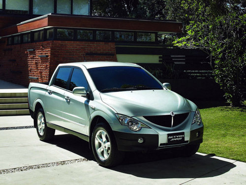 SsangYong Actyon Sports 2006 - 2012