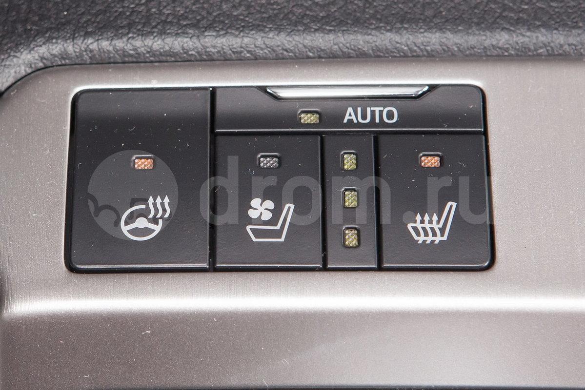 Вентиляция передних сидений: да