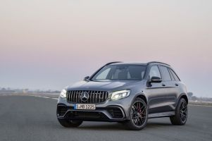 Mercedes поставил битурбовый V8 на кроссоверы GLC и GLC Coupe