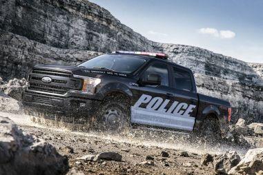 Ford показал полицейские версии F-150 и Expedition