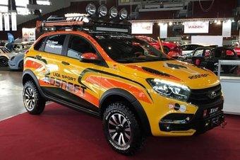 Lada XRAY подготовили для бездорожья