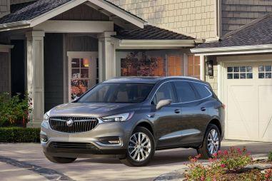 Buick представил новое поколение кроссовера Enclave и премиальный суббренд Avenir