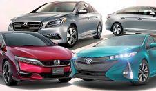 Toyota, Honda и Hyundai — три автопроизводителя, которые в игре электрических и водородных технологий ставят на водород.