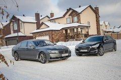Сравнительный тест BMW 740Le и Genesis G90L. Членовозы, или Олдскул против хай-тека - «Автоновости»