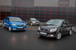 Сравнительный тест Ravon Nexia R3, Datsun on-Do и Renault Logan. «Узбек» против тольяттинских