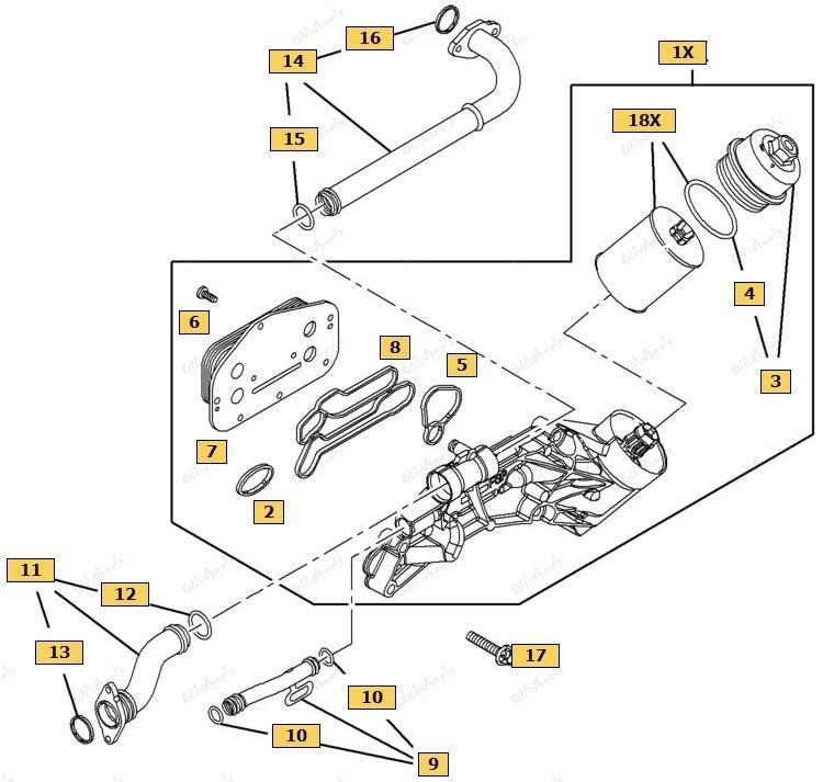 Замена прокладок теплообменник шевроле круз Кожухотрубный испаритель Alfa Laval DET 175 Уфа