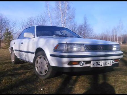 Toyota Carina ED 1989 - отзыв владельца