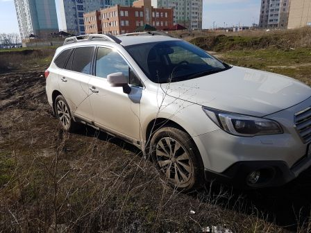 Subaru Outback 2016 - отзыв владельца