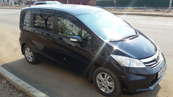 Honda Freed 2012 - отзыв владельца