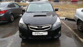 Subaru Legacy 2012 отзыв автора | Дата публикации 17.04.2017.