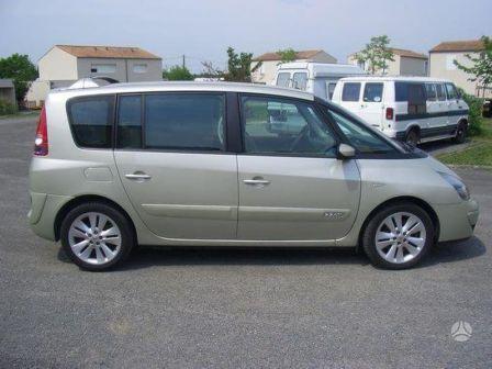Renault Espace 2005 - отзыв владельца