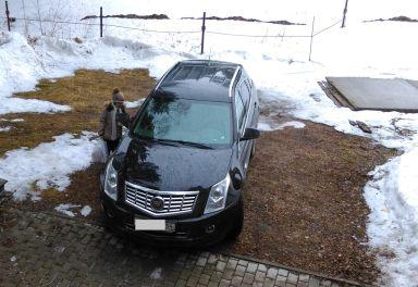 Cadillac SRX, 2014