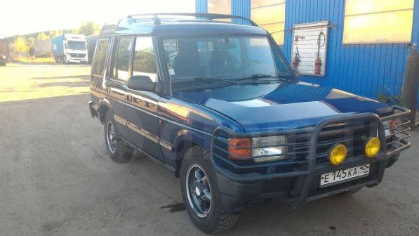 Land Rover Discovery 1997 - отзыв владельца