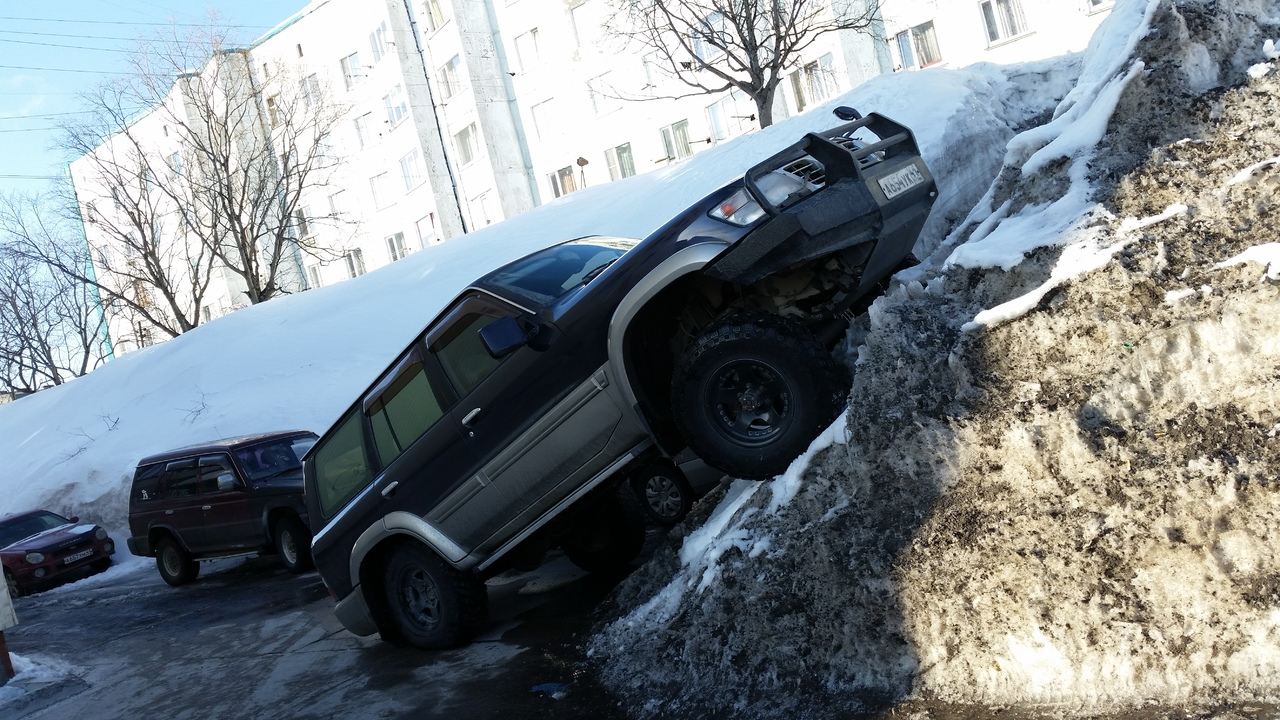 Стандартный метод парковки )