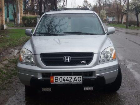 Honda Pilot 2003 - отзыв владельца