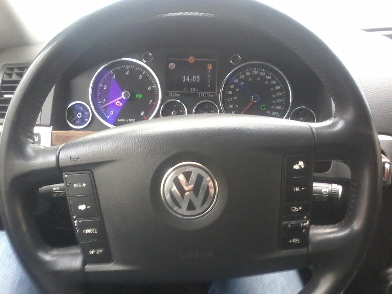расход топлива Volkswagen touareg 2004 года отзывы