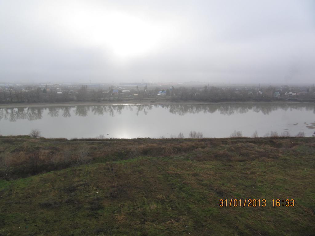 январь фото из окна сьемной квартиры в Краснодаре