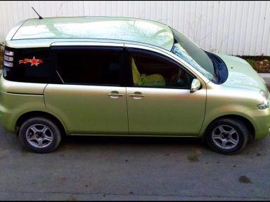 Toyota Sienta 2008 отзыв автора | Дата публикации 02.08.2014.